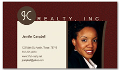 BCR-1026 - realtor business card