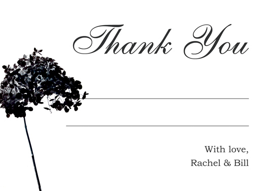 Download Printable Online Wedding Thank You And Response Card