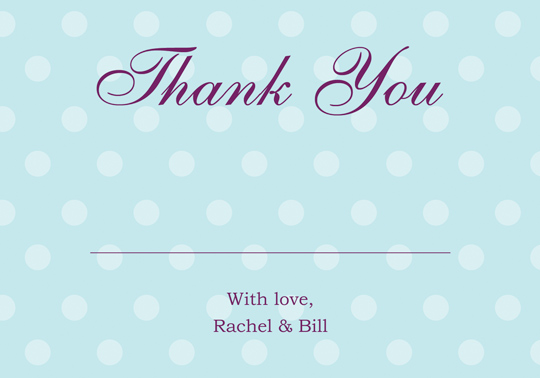 Download Printable Cheap Wedding Thank You And Response Card