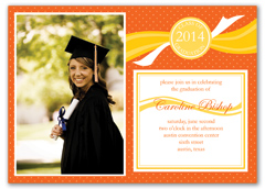 Doctoral Master MBA Graduation Invitation Design