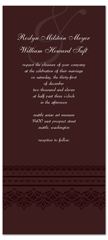 Downloadable File For Personalized Wedding Invitation