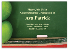 5th Grade 8th Grade Printable Graduation Invitation