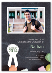 High School Senior Printable Graduation Invitation