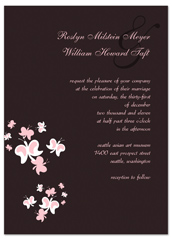 How To Make Butterfly Wedding Announcement Samples